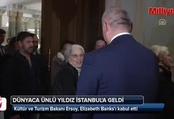 Elizabeth Banks İstanbula geldi