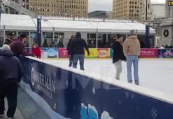 Kendall Jenner buz pateni kaydı Ben Simmons izledi