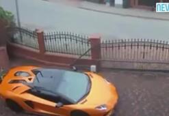 Lamborghiniyi boydan boya çizdi