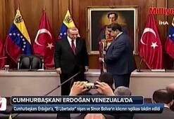 Cumhurbaşkanı Erdoğana El Libertador nişanı