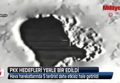 Kuzey Irak'taki PKK hedefleri yerle bir edildi