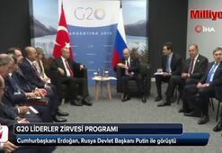 Son dakika... Cumhurbaşkanı Erdoğan ile Putin görüştü