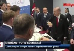Cumhurbaşkanı Erdoğan, Hollanda Başbakanı ile görüştü