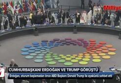 Cumhurbaşkanı Erdoğan ve Trump görüştü