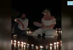 Şarkıcı Aylin Coşkuna romantik evlilik teklifi