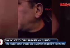 İstanbulda taksici ve yolcunun garip yolculuğu