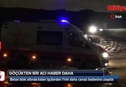 Kuzey Marmara Otoyolundaki göçükten bir acı haber daha