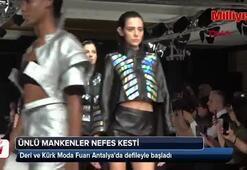 Deri ve Kürk Moda Fuarı Antalyada açıldı