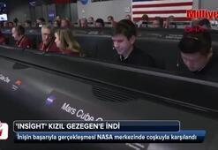 NASAnın Marsa gönderdiği InSight iniş yaptı