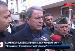 Milli Savunma Bakanı Hulusi Akar açıkladı