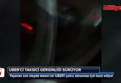 İstanbulda UBERci taksici taciz kamerada
