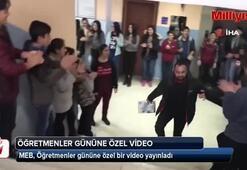 MEB'den 'Öğretmenler Günü'ne özel video