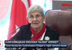 Canan Karatay: Ben de çözelim diyorum.