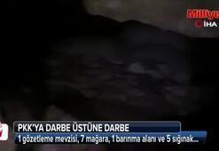 Diyarbakırda terör örgütü PKKya darbe üstüne darbe
