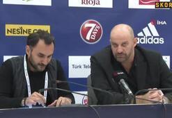 """Zvezdan Mitrovic: """"Her iki takım da iyi bir mücadele sergiledi"""""""