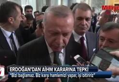 Cumhurbaşkanı Erdoğandan AİHMin Demirtaş kararına sert tepki