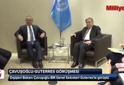 Bakan Çavuşoğlu ile Guterres Kaşıkçı cinayetini görüştü