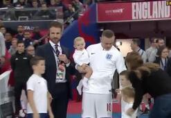Wayne Rooney milli takıma veda etti