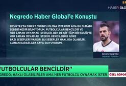 Negredo Beşiktaştan ayrılık sürecini açıkladı