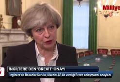 İngiltere'den 'Brexit' onayı