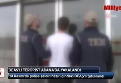 10 Kasımda polise saldırı hazırlığındaki DEAŞlı tutuklandı