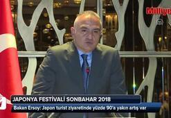 Bakan Ersoy: Japon turist ziyaretinde yüzde 90a yakın artış var