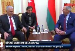 TBMM Başkanı Yıldırım, Belarus Başbakanı Rumas ile görüştü