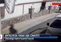Antalyada yasak aşk cinayeti