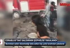 Cerablus'taki bombalı saldırının şüphelisi yakalandı