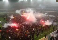 AIK Stockholm taraftarları çıldırdı