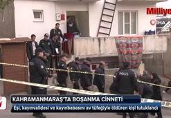 Katliam yapan damat tutuklandı