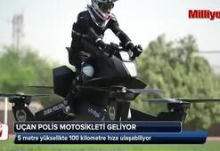 Uçan polis motosikleti geliyor