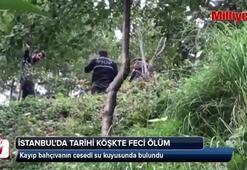 İstanbulda tarihi köşkte feci ölüm