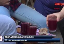 Şalgamcı Abla 35 yıldır şalgam suyu satıyor