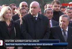 Büyük Önder Mustafa Kemal Atatürk, Azerbaycan'da anıldı