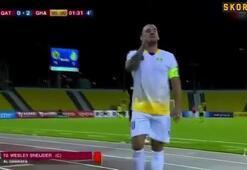 Wesley Sneijder: Bu Katarda oynadığım son maç.