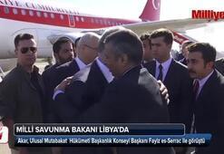 Bakan Akardan Libyada önemli görüşme