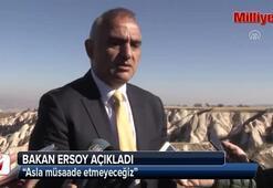 Bakan Ersoy: Asla müsaade etmeyeceğiz