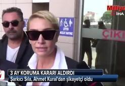 Şarkıcı Sıla, Ahmet Kuraldan şikayetçi oldu