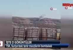 TSK, Suriyedeki terör mevzilerini bombaladı