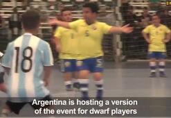 Güney Amerikada cüceler için Copa America düzenleniyor