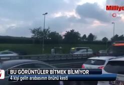İstanbul'da bu görüntüler bitmek bilmiyor