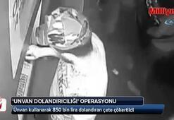 """İstanbul merkezli dev """"ünvan dolandırıcılığı"""" operasyonu: 8 gözaltı"""