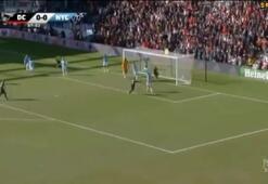 Rooney duble yaptı David Villanın golü yetmedi...
