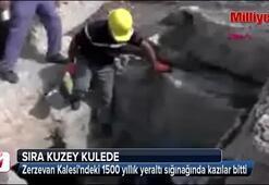 Bin 500 yıllık yeraltı sığınağında kazılar tamamlandı
