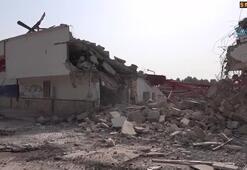 Tevfik Sırrı Gür Stadyumunun yıkımına başlandı