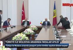 Türkiye ile Moldova arasında imzalar atıldı