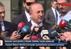 Dışişleri Bakanı Mevlüt Çavuşoğlu önemli açıklamalarda bulundu