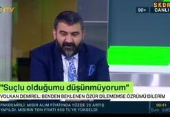 Ümit Özat: Volkan Demirelin geri döneceğini sanmıyorum
