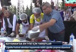 Festivalde ödüllü çiğköfte yarışması düzenlendi